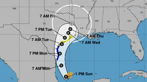 Tropical Storm Nicholas Heads Toward Texas And Louisiana