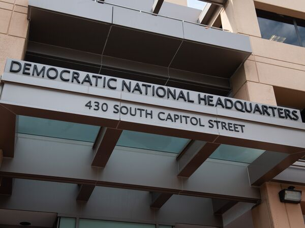 On Monday morning, the U.S. Capitol Police arrested a California man who had multiple weapons in his truck near the Democratic National Committee headquarters, seen here in this stock photo.