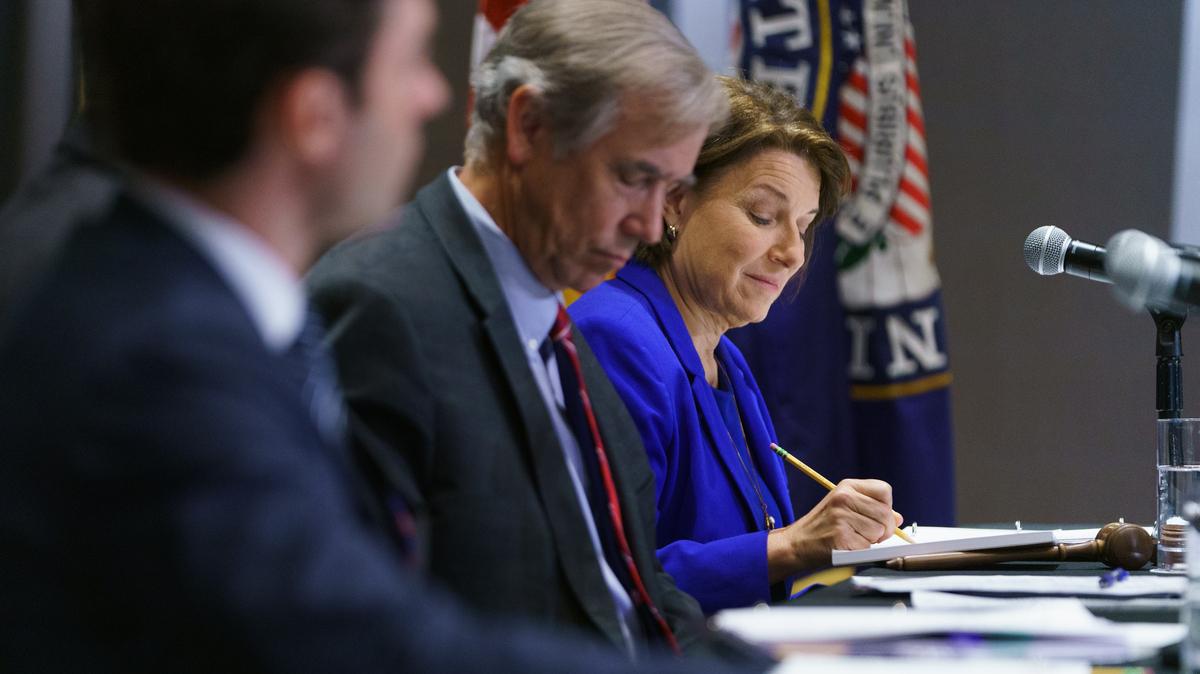 Senate Democrats reach agreement on new voting law: NPR