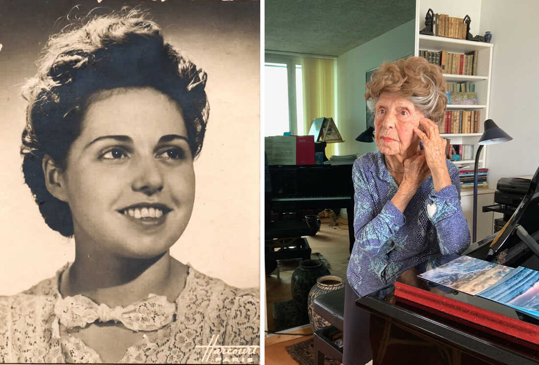 107-year-old French pianist Colette Maze has a new album: NPR