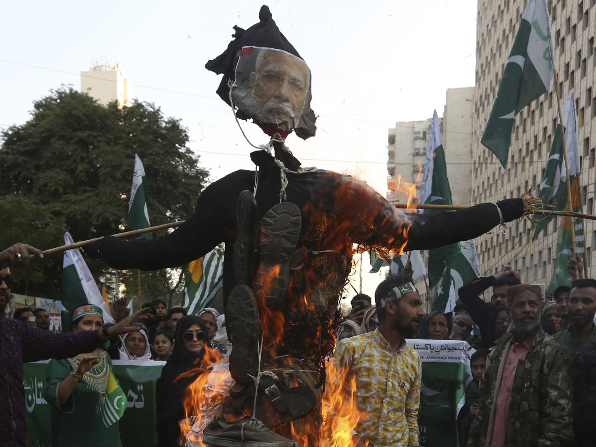 Indian leaders fear Taliban victory will fuel insurgency in Kashmir: NPR