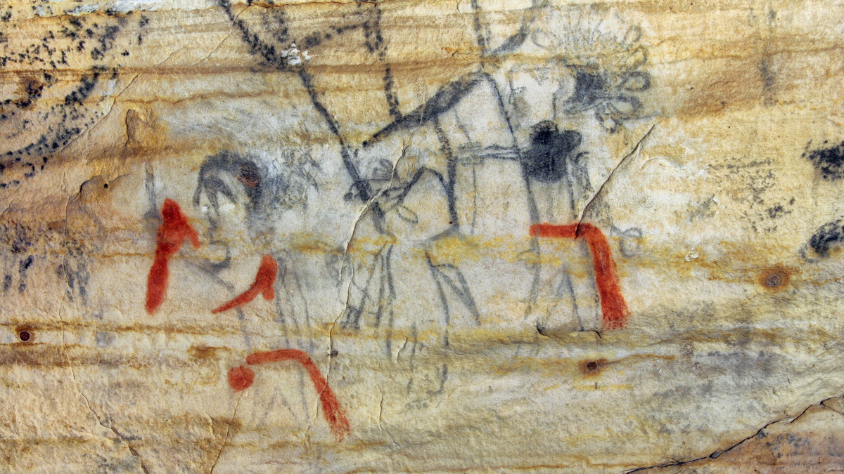 Missouri cave with ancient Native American drawings sold: NPR