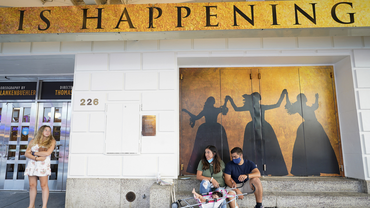 3 of Broadway's biggest shows reopen with COVID rules: NPR