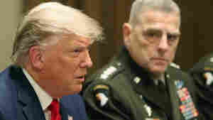 Gen. Milley Defends His Call To A Chinese General About Trump's Rhetoric And The U.S.