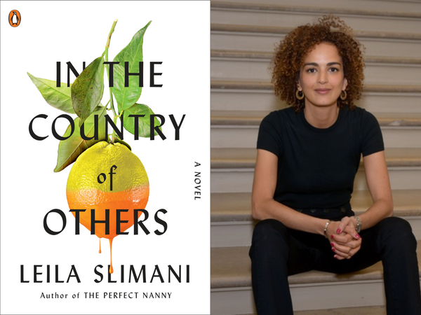 Cover of In the Country of Others and author Leila Slimani.