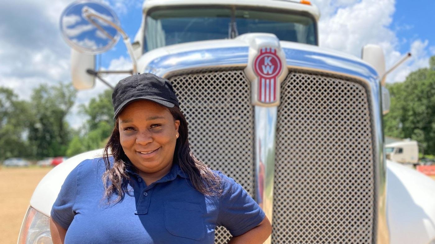 Truck Driving Has Long Been A Man's World. Meet The Women Changing That