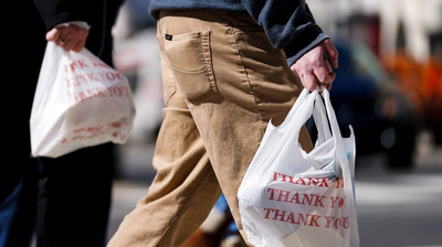 Trump EPA Administrator Speaks Out Against Fairfax County's 5-Cent Plastic Bag Fee