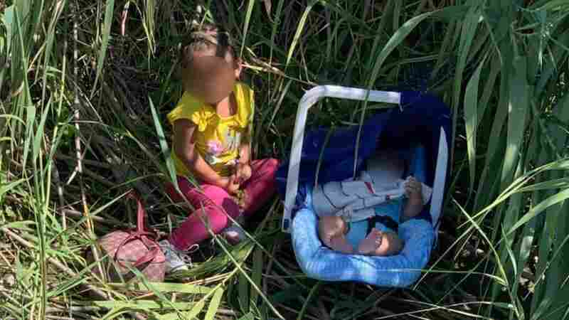 U.S. Border Agents Found A Toddler And A Baby Abandoned Along The Rio Grande