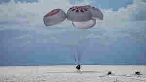 Inspiration4 Crew Returns To Earth, Splashing Down In The Atlantic Off Florida Coast