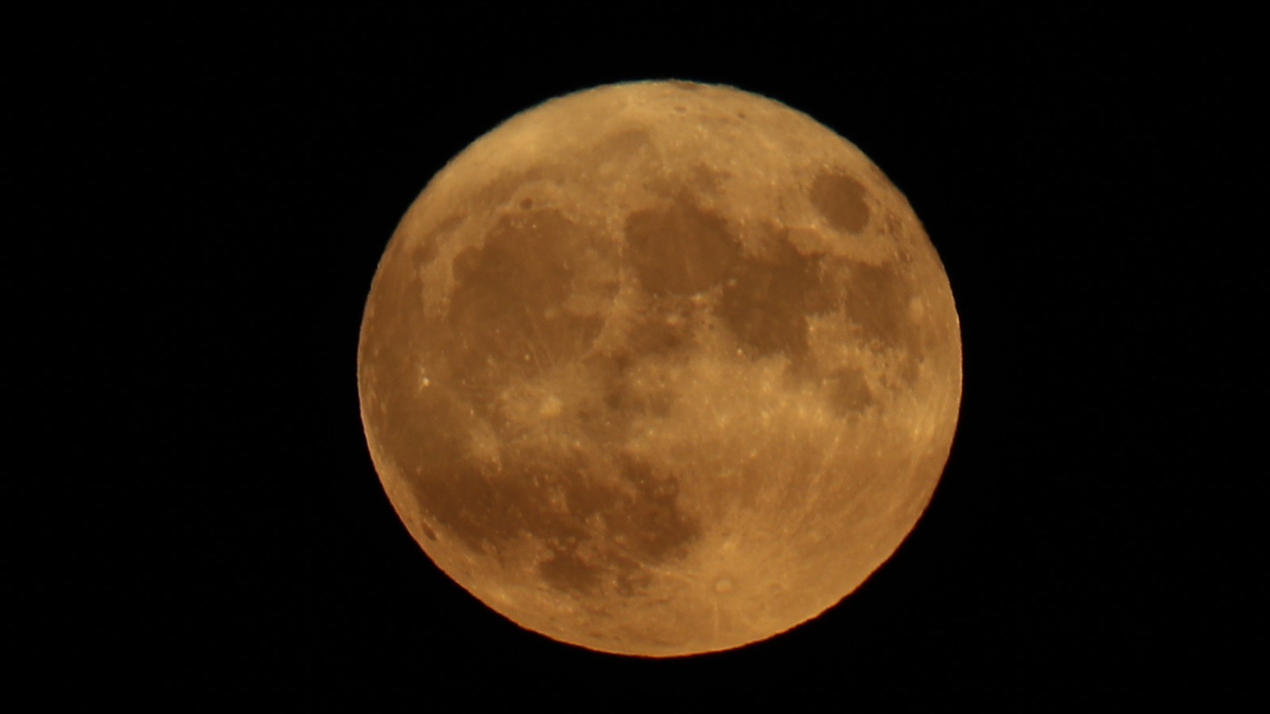 Celebrate The End Of Summer With Monday's Harvest Moon - NPR