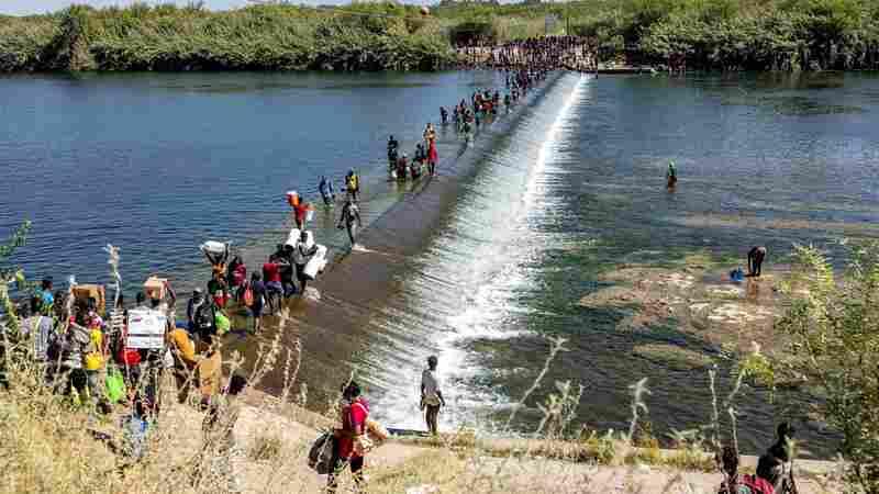 Biden Administration Plans Mass Deportation Of Haitian Migrants In Del Rio, Texas