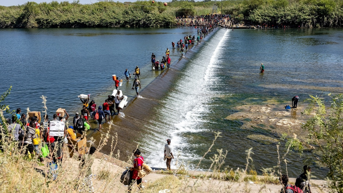 Biden Administration Plans Mass Deportation Of Haitian Migrants In Del Rio, Texas - NPR