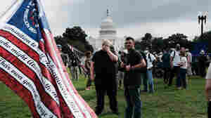 Hundreds Rally In Support Of Capitol Riot Suspects Amid Heightened Police Presence