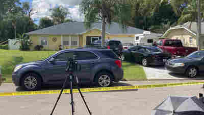 Officers Remove Boxes And A Car In A Search Of The Home Of Gabby Petito's Boyfriend