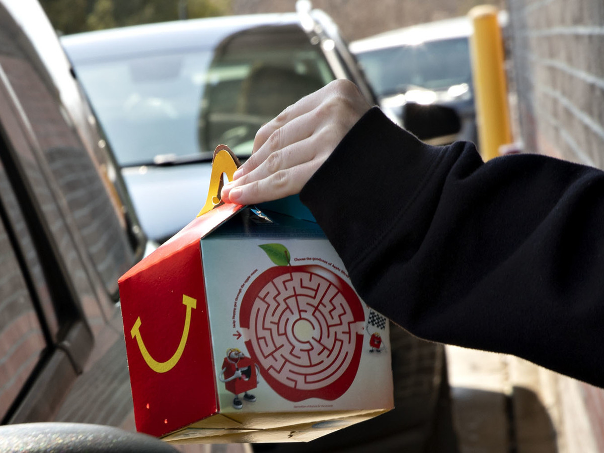 McDonald's to phase out plastic toys from its Happy Meals: NPR