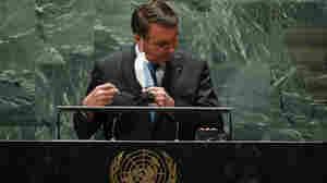 Brazil's Jair Bolsonaro Remains Defiant On COVID-19 And The Environment At The U.N.
