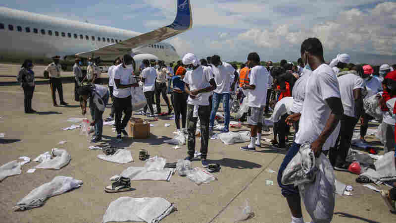 Here's What Haitians Are Finding When They Get Off U.S. Expulsion Flights