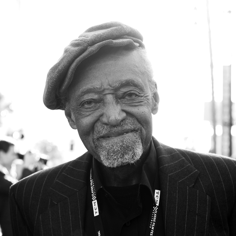 Melvin Van Peebles at a 2018 film festival in Hollywood. (Charley Gallay/Getty Images for TCM)