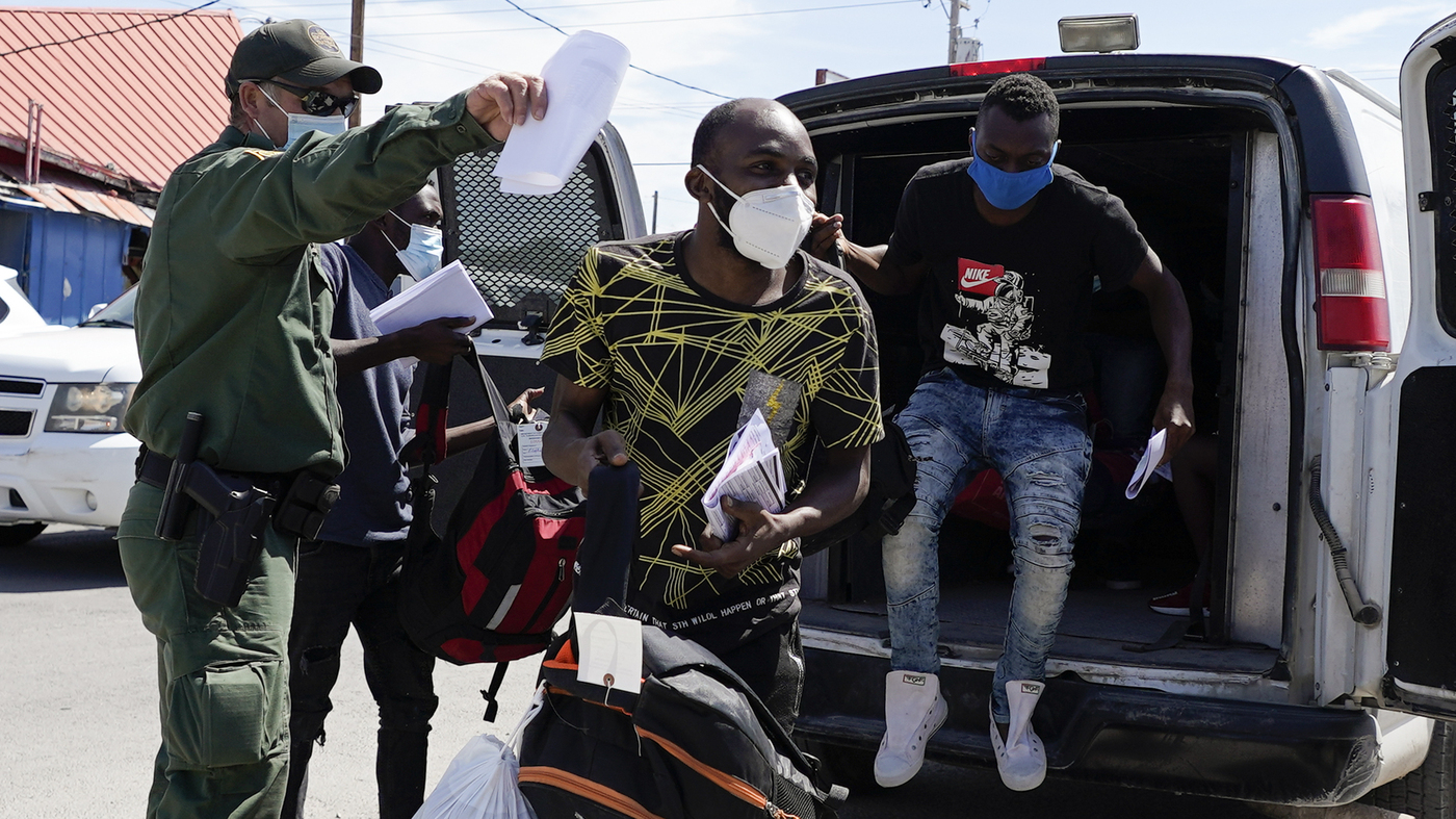 Many Haitian Migrants At Border Are Being Released Into The US Not Deported - NPR