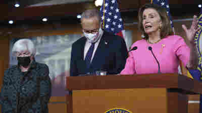 Democrats Say They Agree On A Loose Framework To Pay For Their Spending Agenda