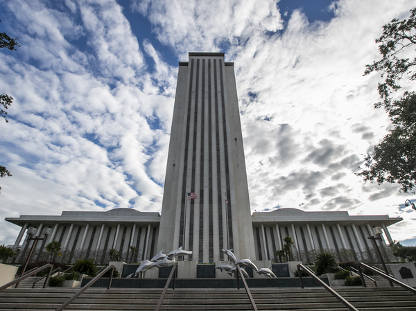 A view of the Florida state Capitol building in Tallahassee. One Republican state lawmaker has introduced a restrictive abortion bill that is drawing comparisons to the ban recently enacted in Texas.