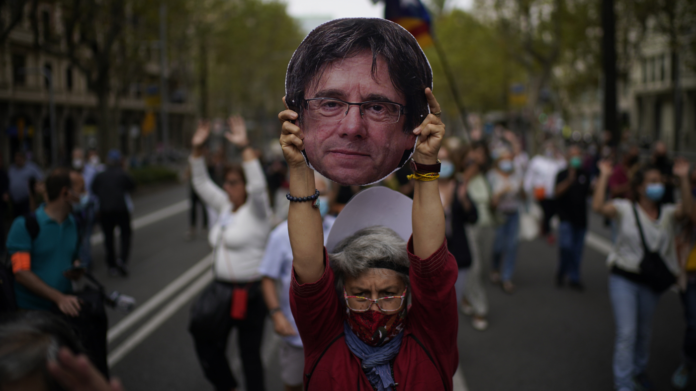 Catalan Separatist Leader Is Freed In Italy Until An Extradition Hearing