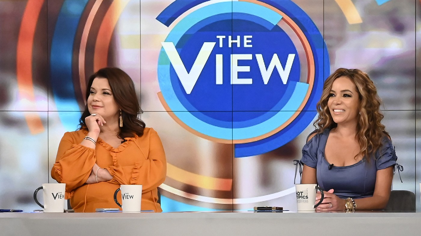 'View' Co-Hosts Test Positive For COVID Moments Before Harris Interview - NPR