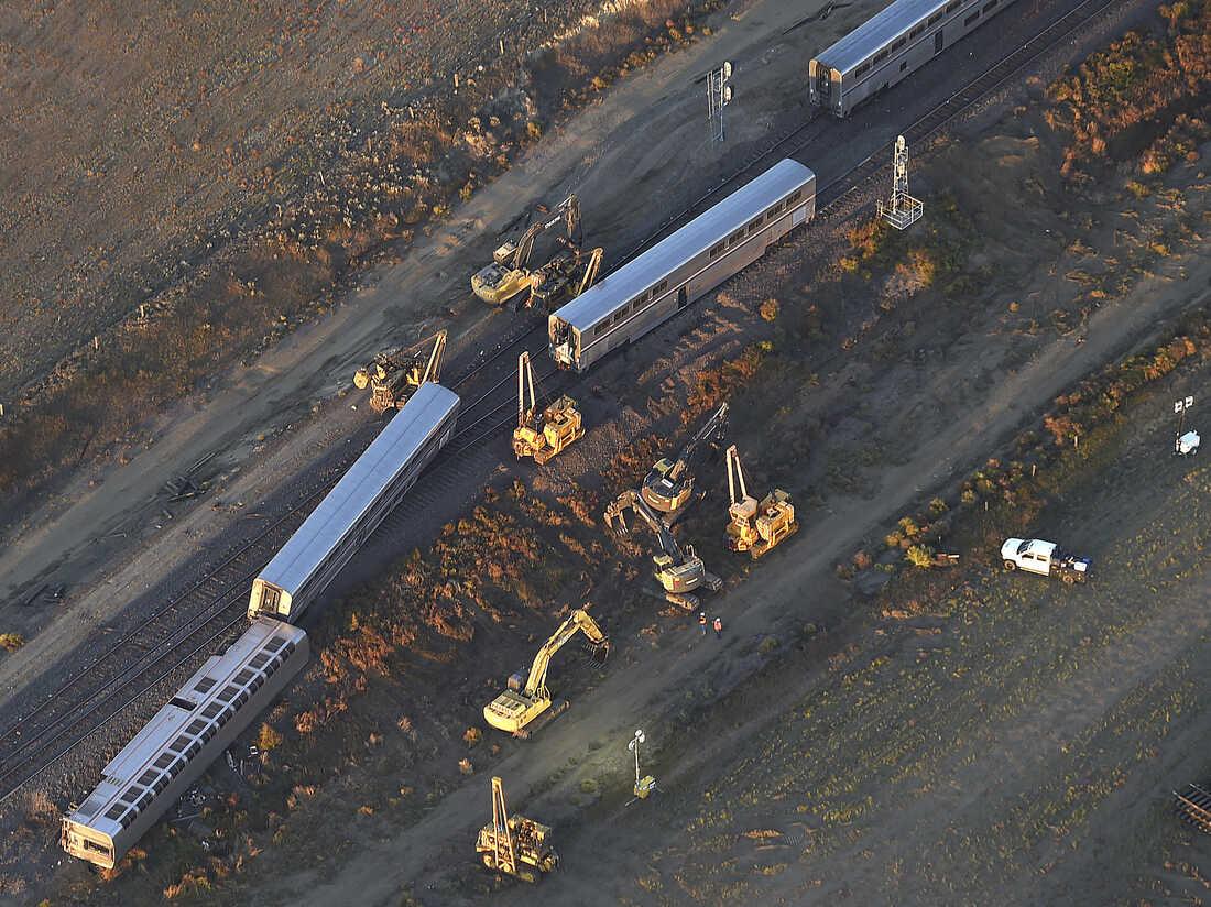 Federal Investigators Probe Deadly Amtrak Derailment In Montana