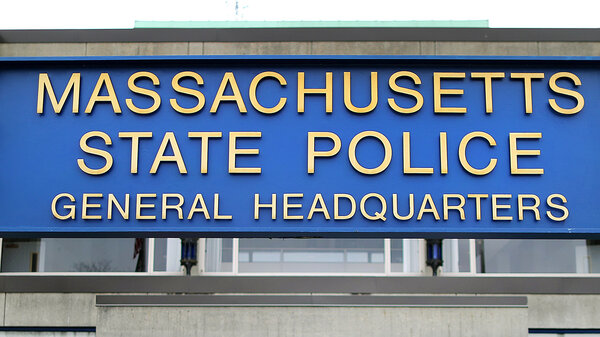 The Massachusetts State Police headquarters in Framingham, Mass.