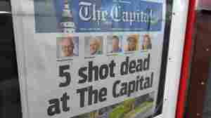 'Capital Gazette' Gunman Is Sentenced To Multiple Life Prison Terms, Plus 345 Years