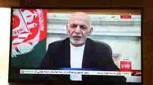 Hacked Facebook Account Of Ousted Afghan President Calls For Cooperation With Taliban