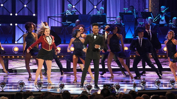 Broadway performers at the Tony Awards on Sunday.