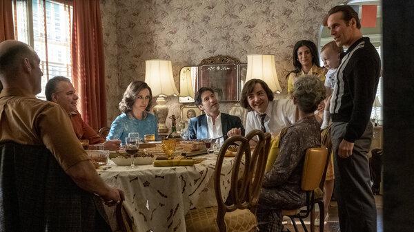 "The sprawling cast of the Sopranos prequel film ""The Many Saints Of Newark""."