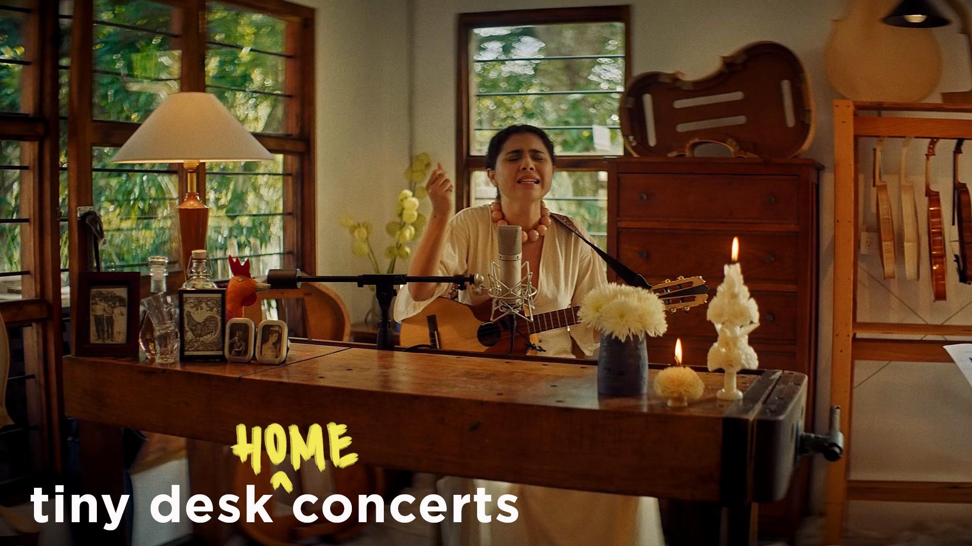 Silvana Estrada's Tiny Desk (home) concert