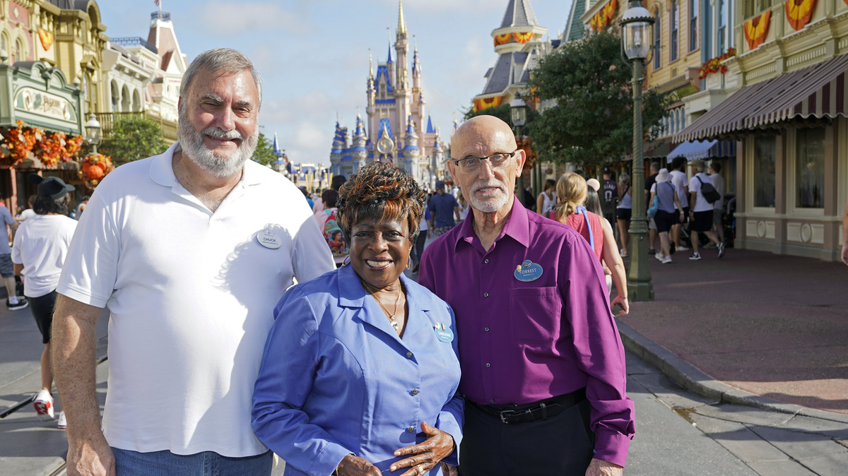 Some original staff say they're still happy working at Disney World after 50: NPR