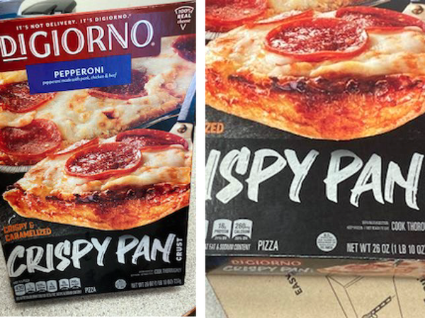 Nestlé USA is recalling thousands of pounds of DiGiorno Crispy Pan Crust pepperoni pizza over potential mislabeling and an undeclared soy allergen. It's asking consumers to throw the product out or return it to its place of purchase.