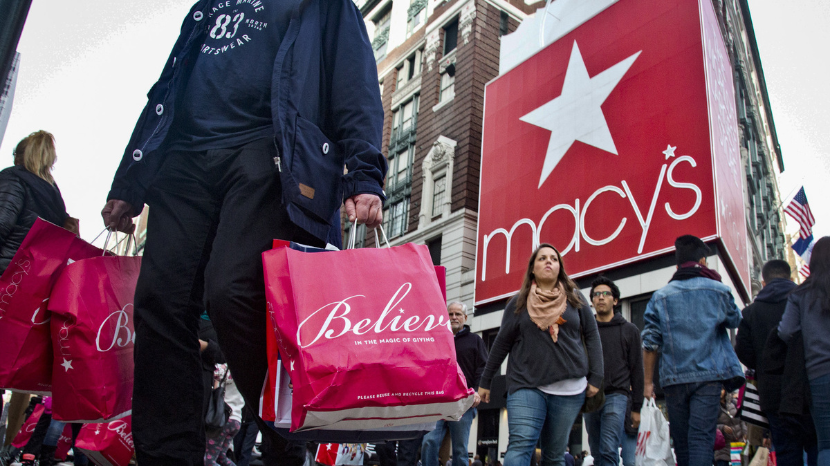 Macy's wants to block Amazon ads from giant billboard next to flagship store: NPR