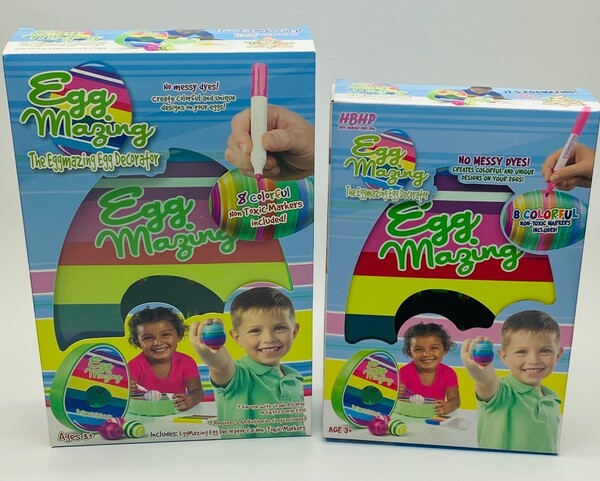 Texas toy company Hey Buddy Hey Pal has shrunk its packaging so more toys can fit into a single shipping container.