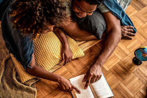 Keisha Siriboe, an early childhood literacy consultant with a PhD in early childhood education, says reading aloud can help people with stress management, hope and resilience.
