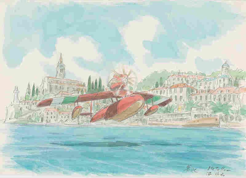 Imageboard, Porco Rosso (1992), Hayao Miyazaki