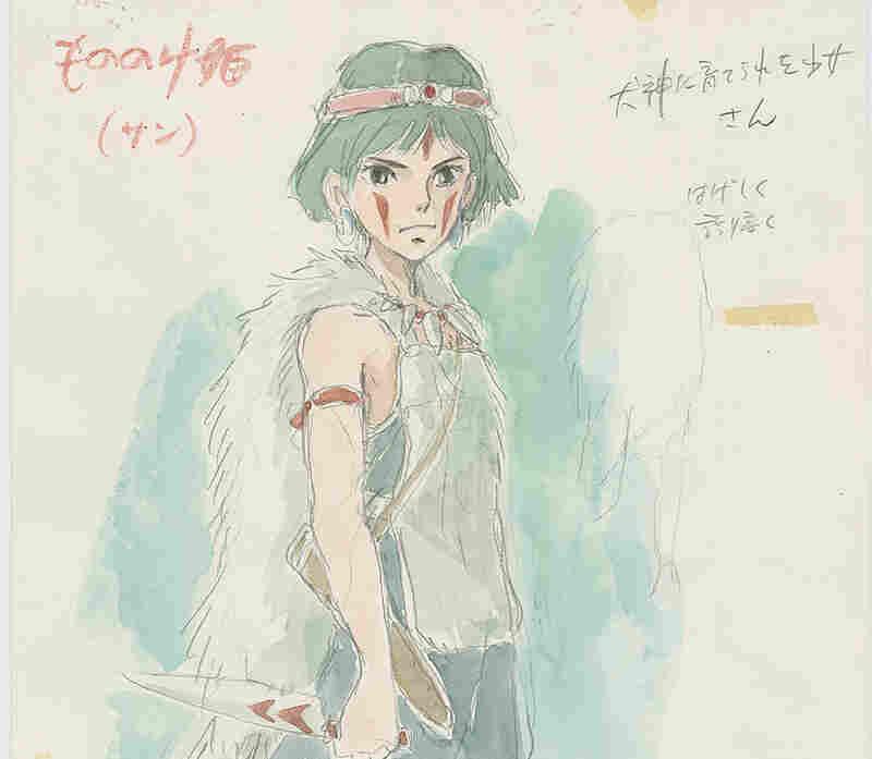 Imageboard, Princess Mononoke, 1997, Hayao Miyazaki