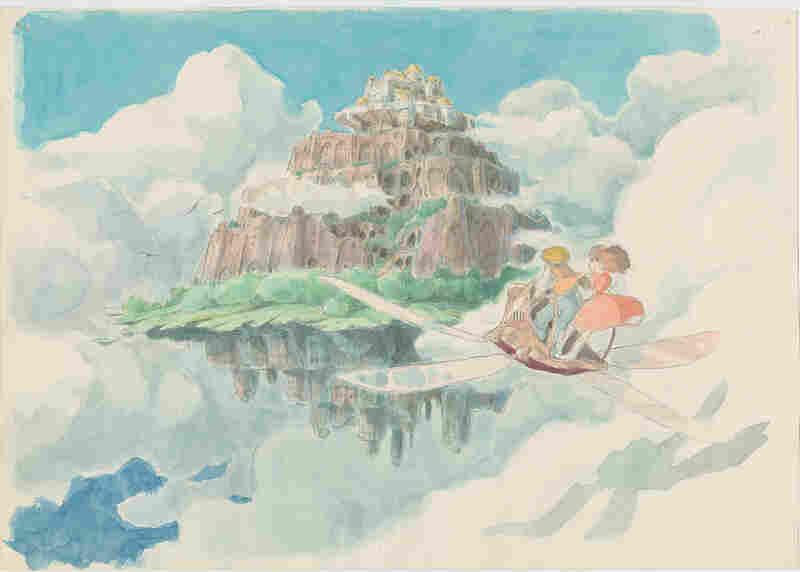Imageboard, Castle in the Sky (1986), Hayao Miyazaki