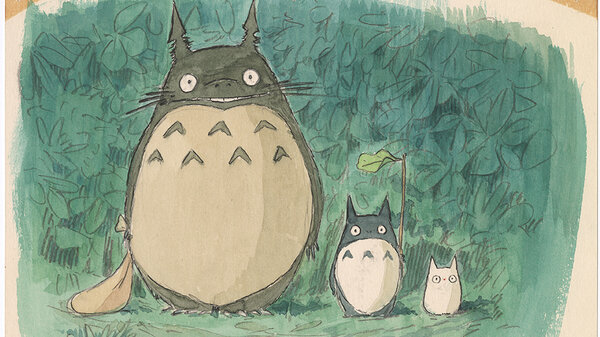 Imageboard, My Neighbor Totoro (1988), Hayao Miyazaki