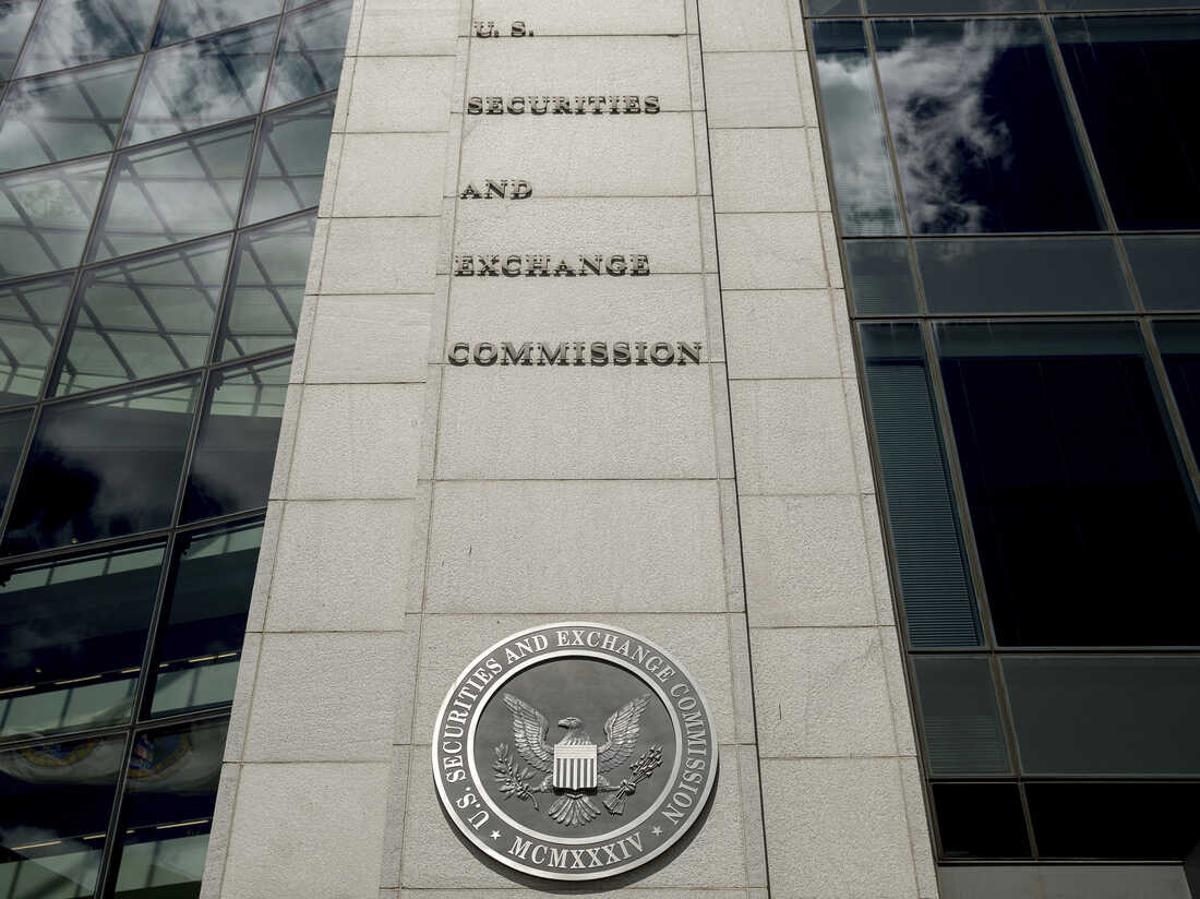 FILE - In this Aug. 5, 2017, file photo U.S. Securities and Exchange Commission building in Washington.