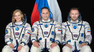 A Russian actor blasts off to make a movie on the International Space Station