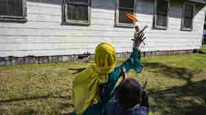 Wisconsin military base turns into a small city as Afghans await resettlement