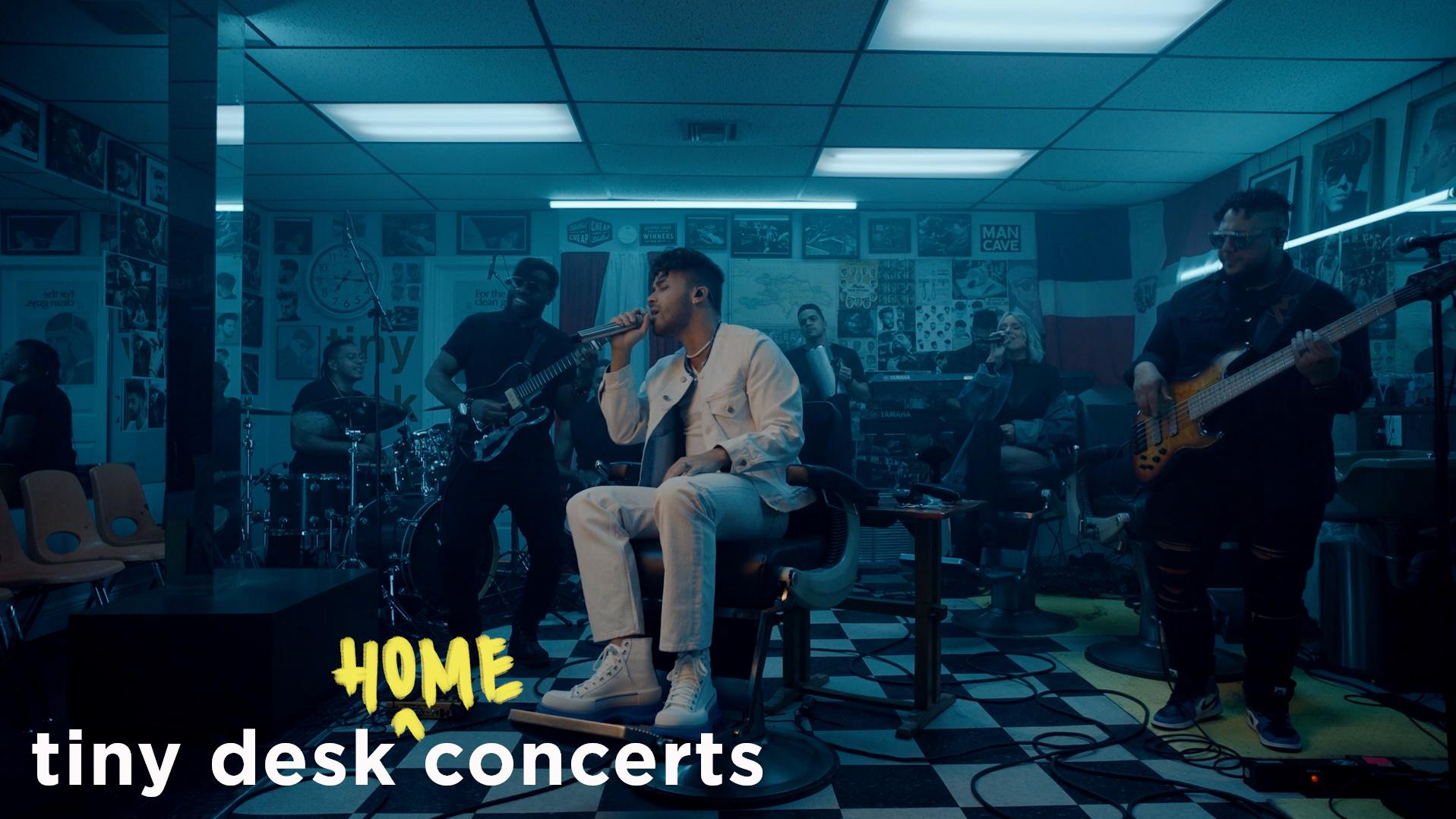 Prince Royce's Tiny Desk (home) concert