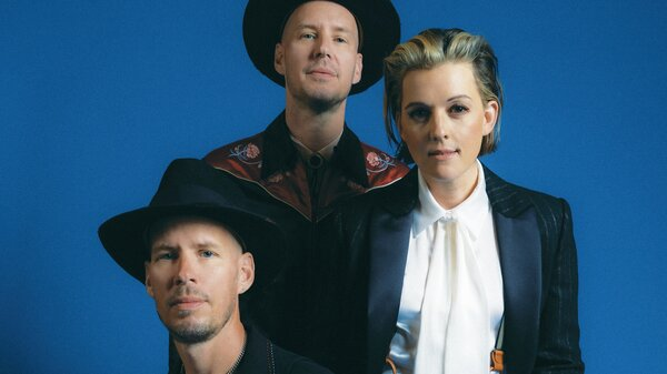 """""""In These Silent Days"""" is the latest collaboration between singer-songwriter Brandi Carlile and her core band, twin brothers Phil and Tim Hanseroth."""