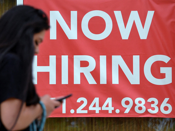 The unemployment rate dipped to 4.8% in September, from 5.2% in August, although some of that decline resulted from people dropping out of the workforce.