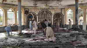 Dozens of people have been killed in a mosque explosion in Afghanistan